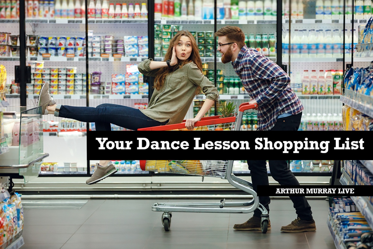 dance-lesson-shopping-list