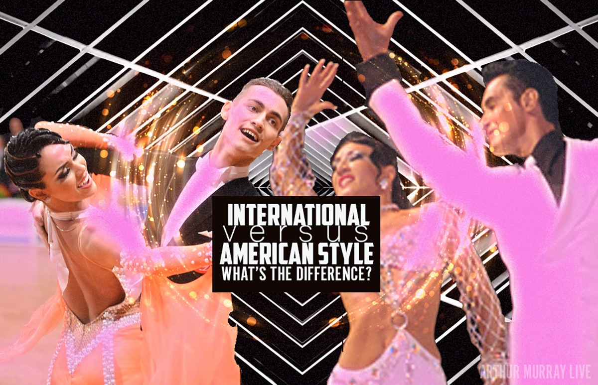 International Ballroom Vs. Smooth What's the Difference?