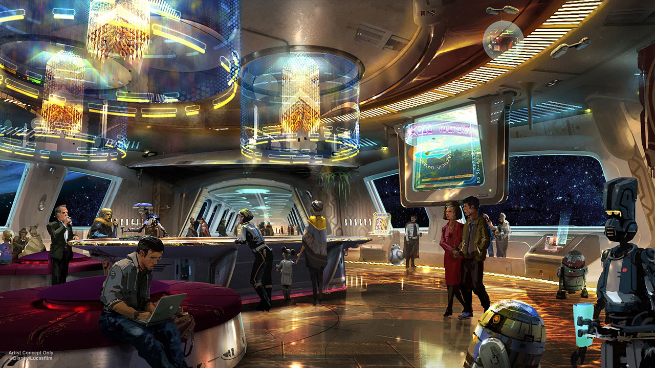 This Star Wars Hotel Can Teach You About Ballroom Dancing